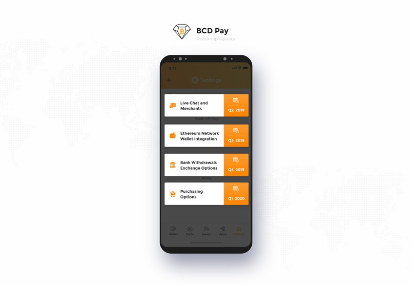 BCD Pay Roadmap Update